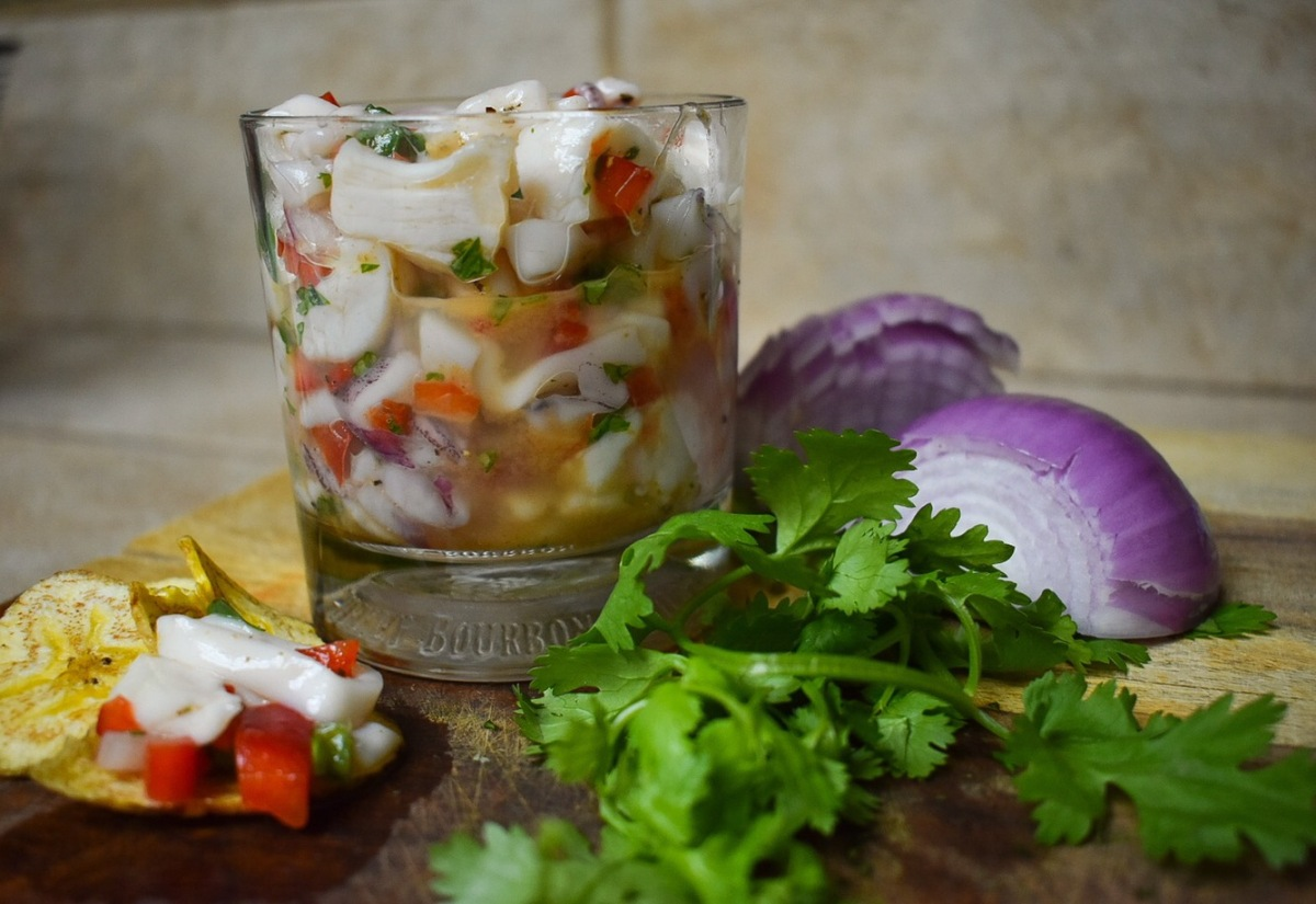 Scallop and Squid Ceviche
