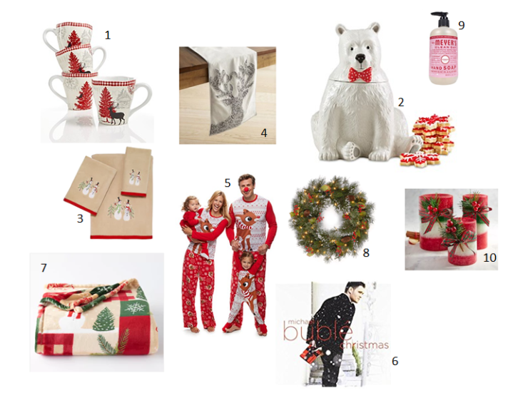 10 Items To Help Transition Into the Christmas Spirit
