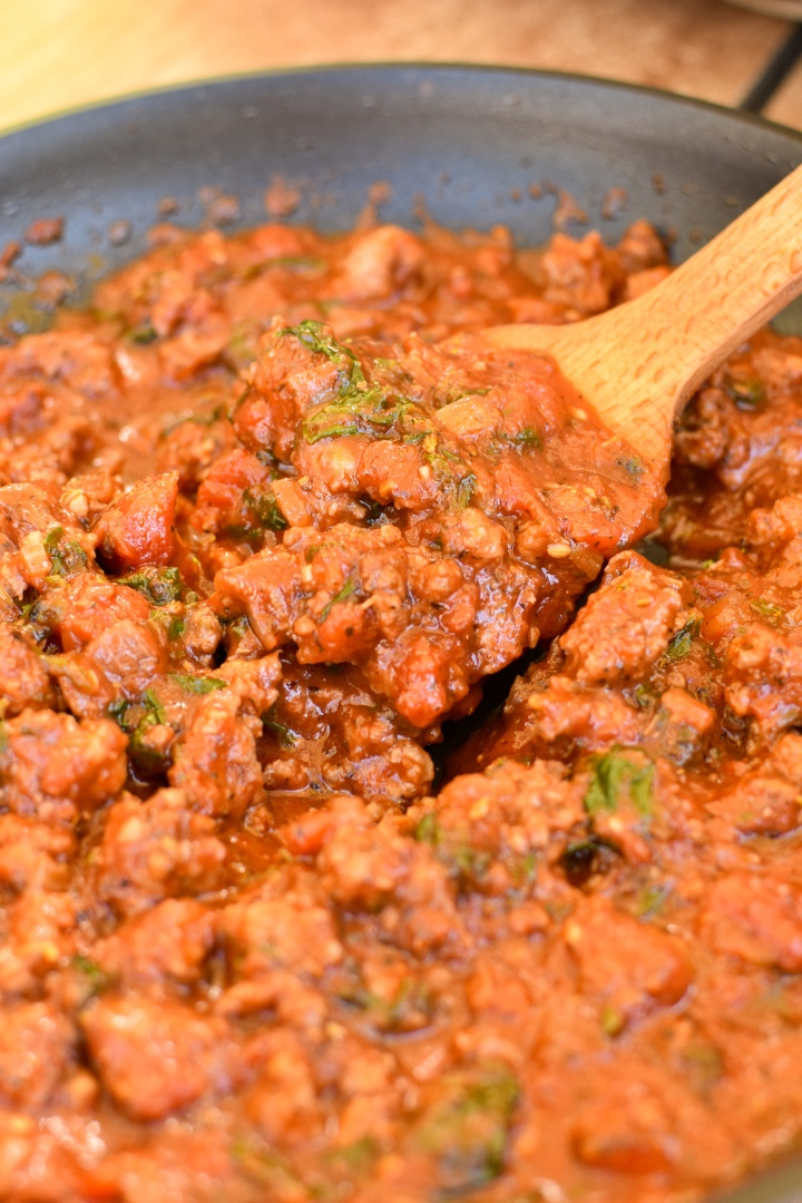 Weeknight Italian Meat Sauce