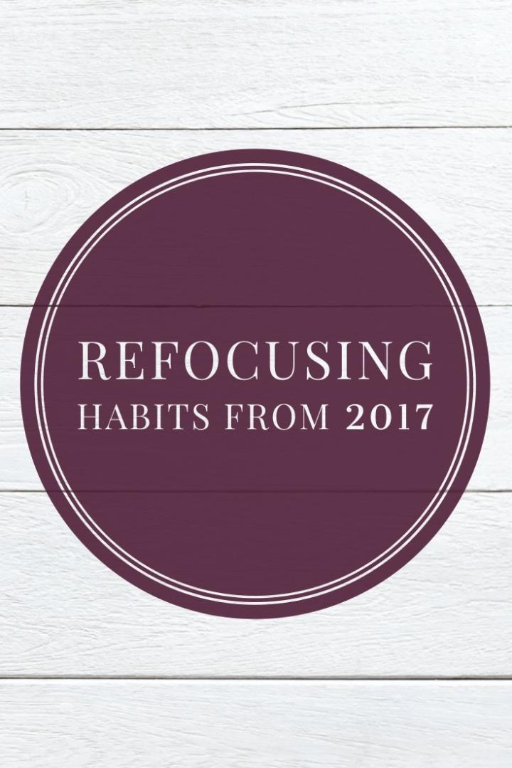 Refocusing Habits from2017