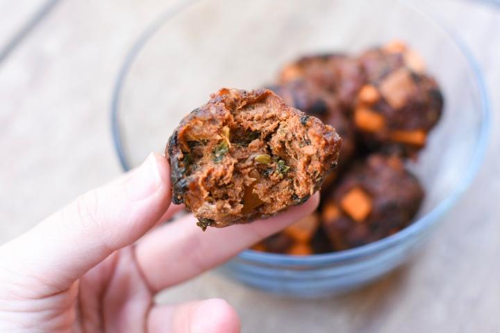 Chorizo Breakfast Meatballs| Wholesome-joy.com